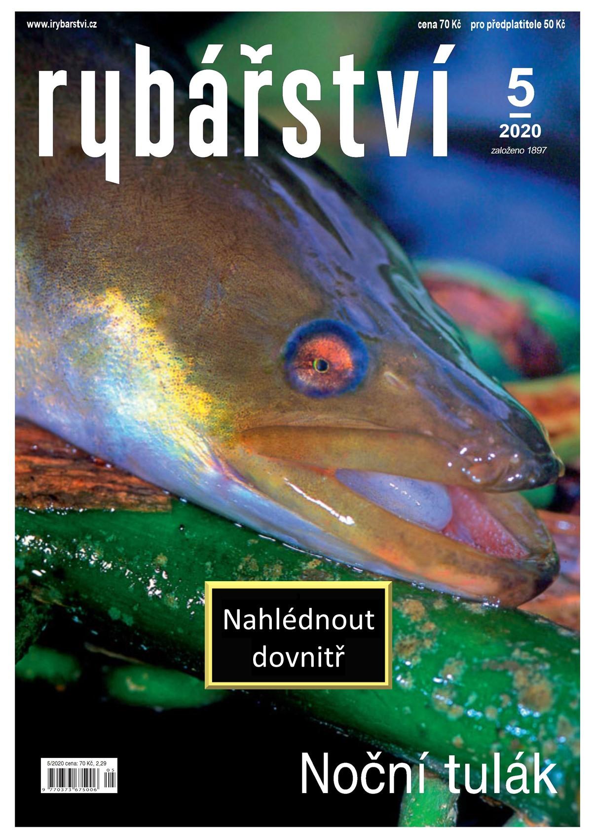 Časopis Rybářství - 2020/5