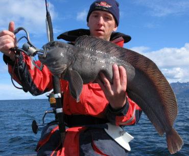 rybář na moři