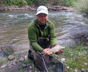 rybář u vody