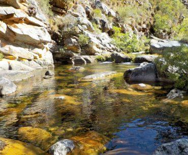 potok v horách