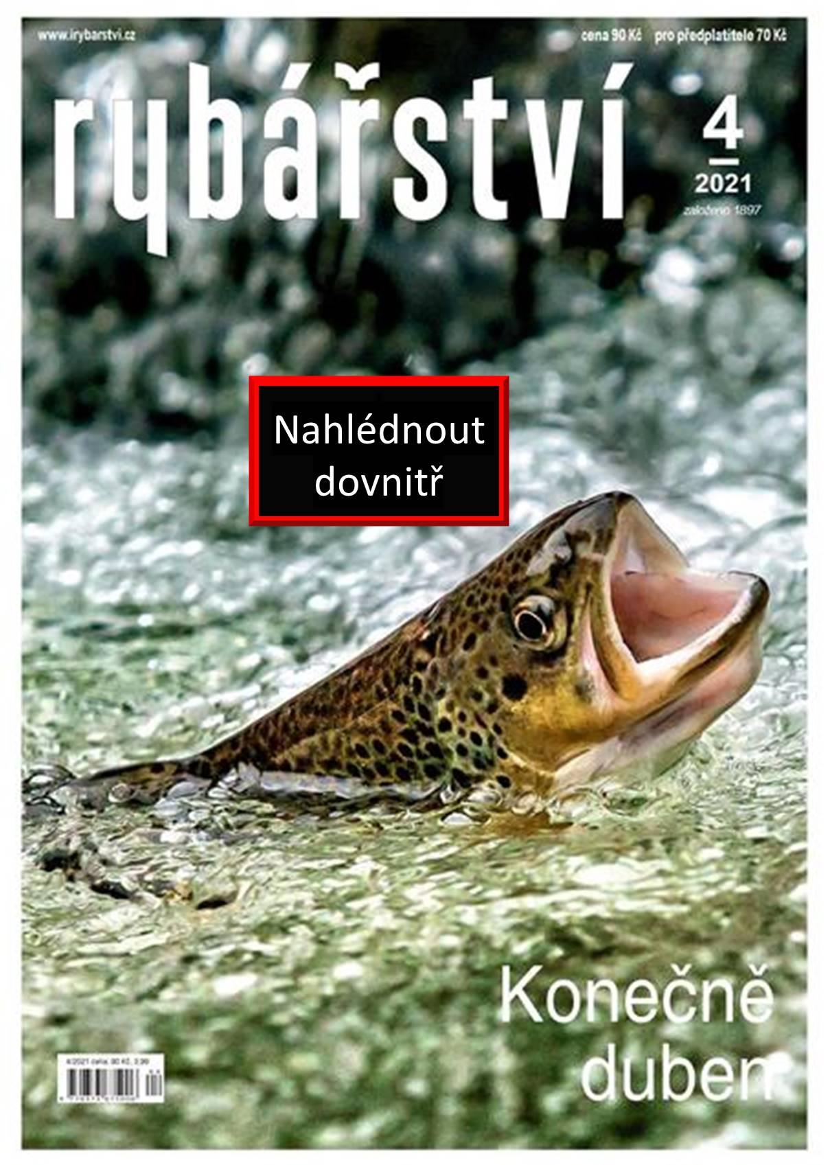Časopis Rybářství - 2021/4