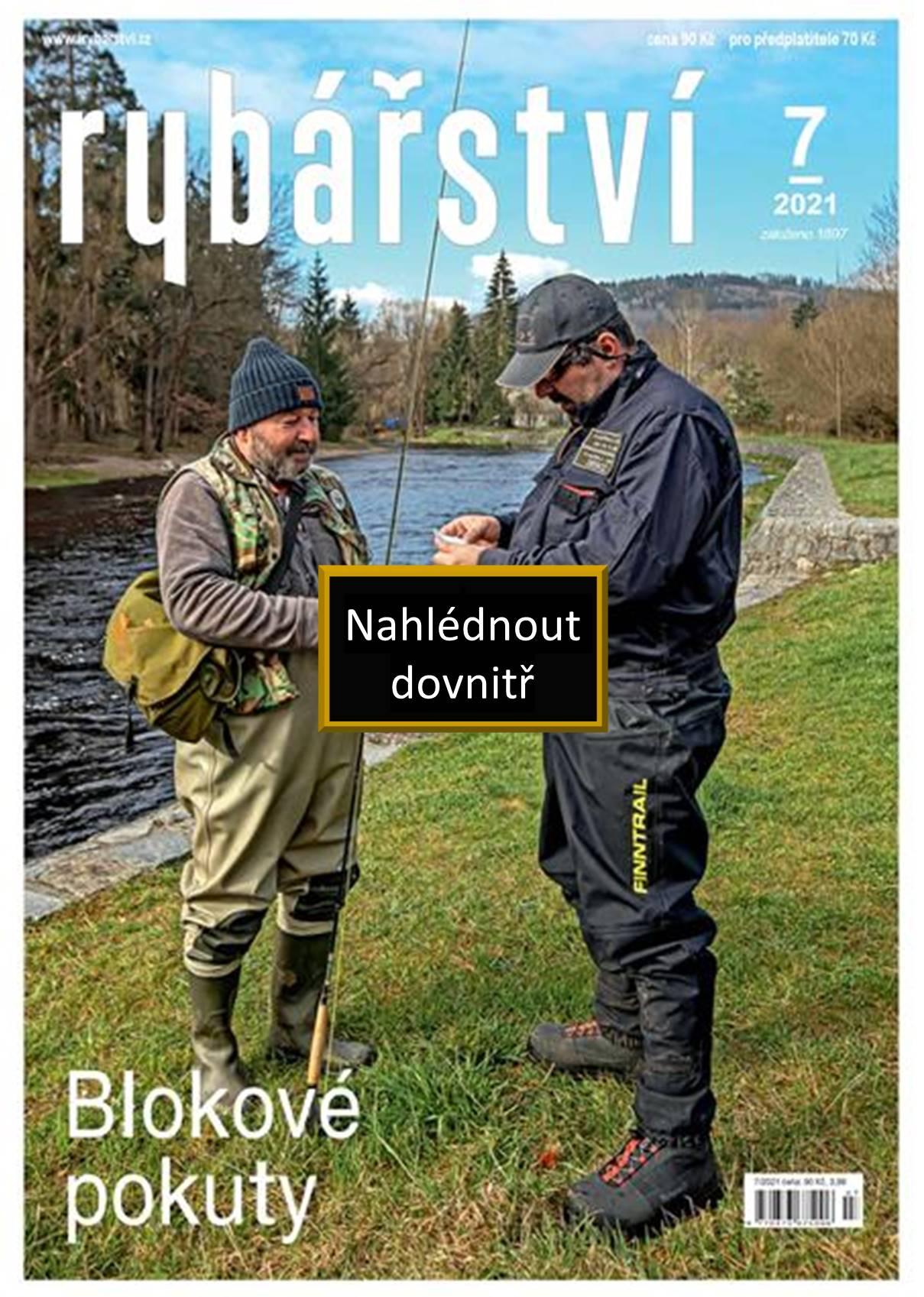 Časopis Rybářství - 2021/7